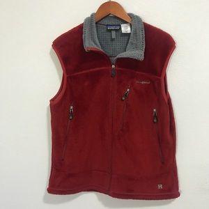 PATAGONIA R4 Regulator  fleece red vest full zip